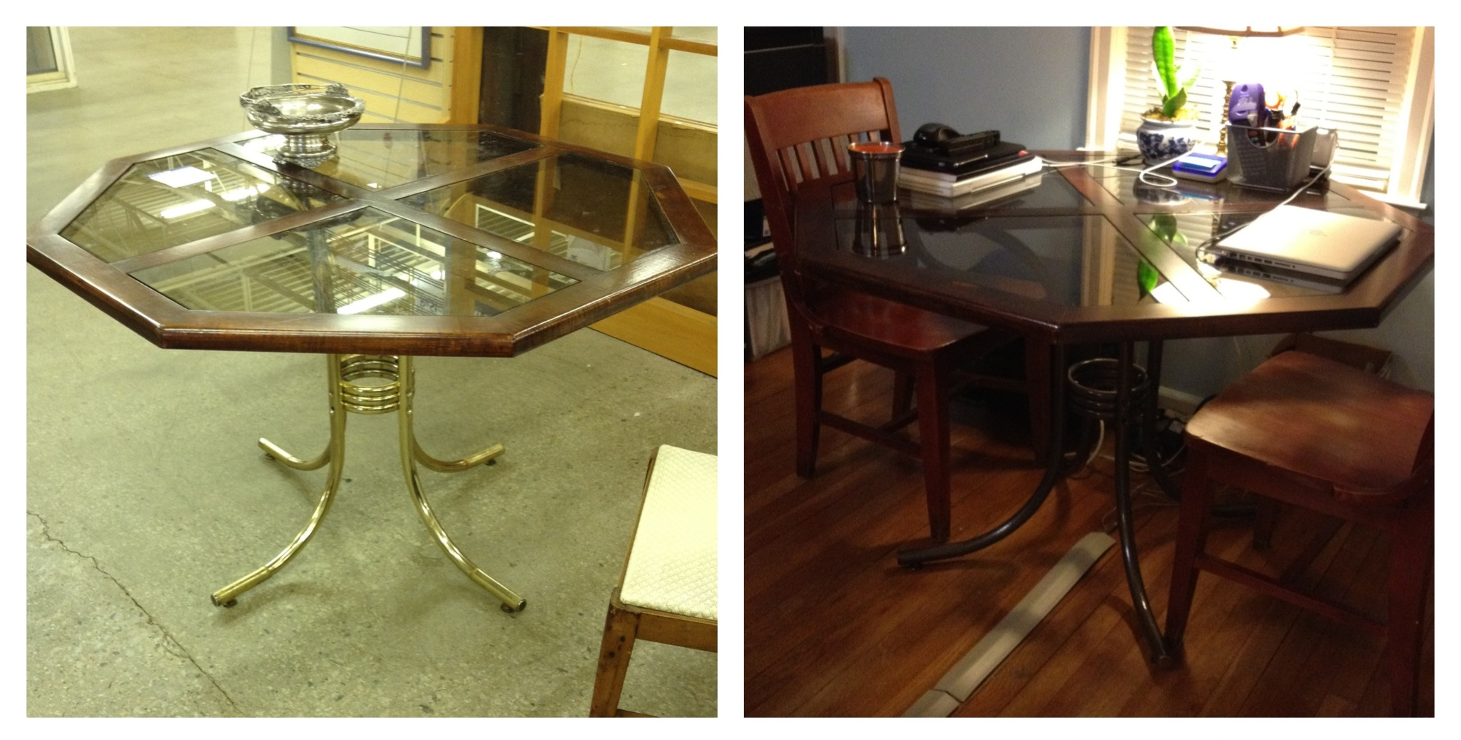 how to remove pen ink from white leather sofa american furniture sale painting brass table legs brokeasshome