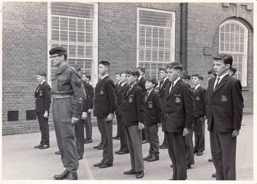 Peter E school army 2