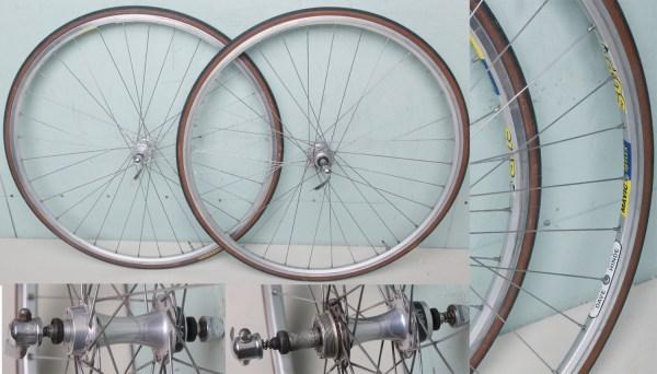 Hilary Stone Clincher Wheels With Freewheel Hubs