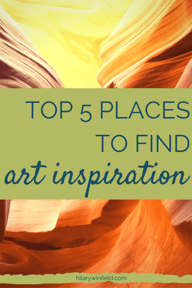 Creative blocks are a natural part of the process and they can come as quickly as they go. However, sometimes we all need a catalyst to break through to that next great idea. Click to learn the 5 places where I find creative inspiration or pin for later.