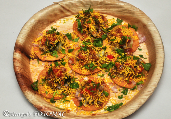 Paapdi Chaat Sev Puri Hildas Touch Of Spice