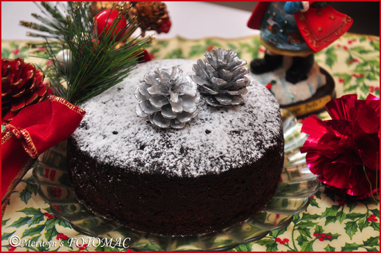 Rich Christmas Fruit Cake Hildas Touch Of Spice