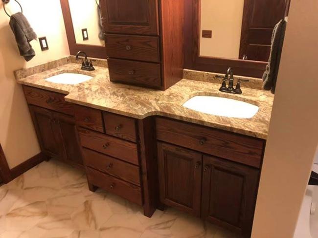 Hildebrandt Custom Cabinets Bathroom Vanities