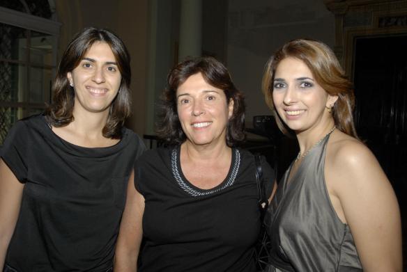 juliana e silvia cintra e elisangela valadares Galeristas nacionais e internacionais na ArtRio 2011