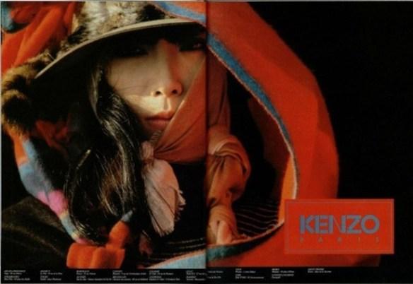 1983 hans feurer A Os 40 anos da Kenzo celebrados em Paris, mas sem o Kenzo...