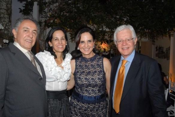 Osanah e Cristiana Almeida com Clara Vasconcellos e Moreira Franco Casamento Ana Carolina e Thomaz Malan – parte 2