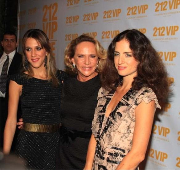 ln2 Carolina Herrera, em noite que exalava a gardênias, chez Lenny