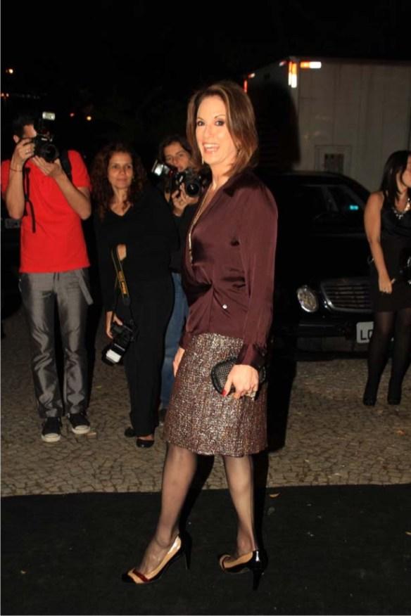 ln4 Carolina Herrera, em noite que exalava a gardênias, chez Lenny