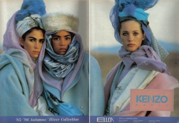 winter 86 Hans Feurer Os 40 anos da Kenzo celebrados em Paris, mas sem o Kenzo...