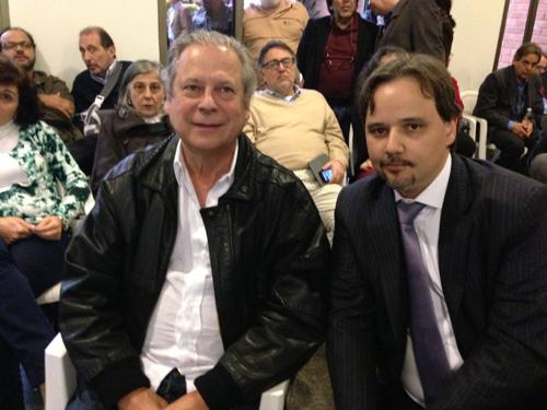 Dirceu_foto-José Dirceu e o advogado Marco Aurélio Carvalho