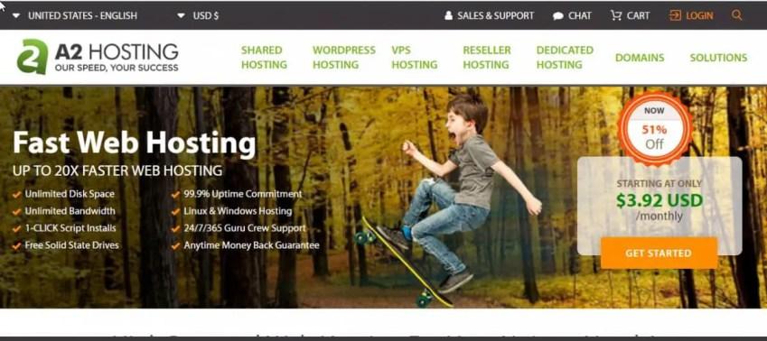 , A2hosting is among the fastest web hosting companies, แนะนำบริการดีๆจากทั่วทุกมุมโลก เพื่อให้ง่ายต่อการตัดสินใจ