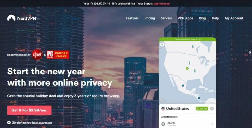 , nordVPN is an affordable VPN service provider, แนะนำบริการดีๆจากทั่วทุกมุมโลก เพื่อให้ง่ายต่อการตัดสินใจ