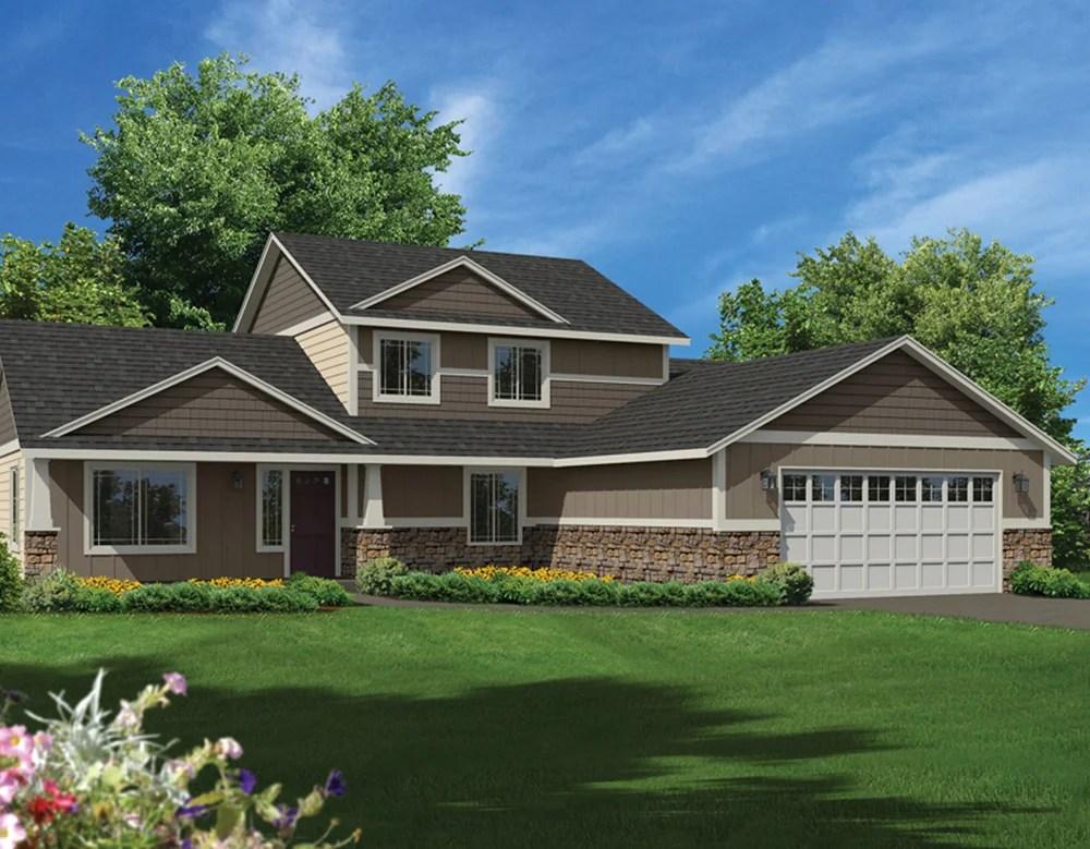 Floorplan 2345  HiLine Homes