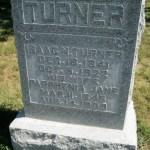 Isaac Newton Turner Tombstone