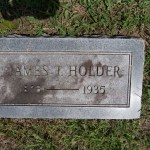 James T. Holder Tombstone