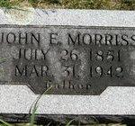 John E. Morriss Tombstone