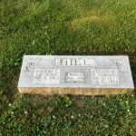Roland George Hill Tombstone