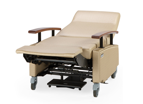 medical recliner chairs boatswains chair art of care lay flat hill rom com