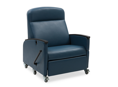 blue glider chair coleman camping chairs art of care™ manual bariatric recliner | hill-rom.com