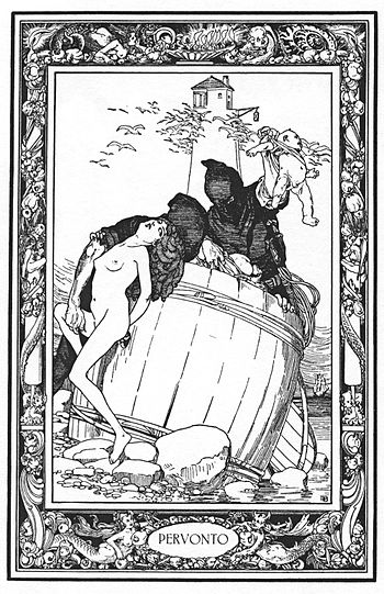 "Illustration for Giambattista Basile's ""P..."