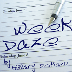 Week Daze, a streaming / stage play comedy in one act by Hillary DePiano