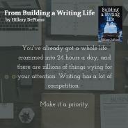 Make Writing a Priority