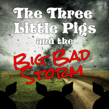 The Three Little Pigs and the Big Bad Storm by Hillary DePiano