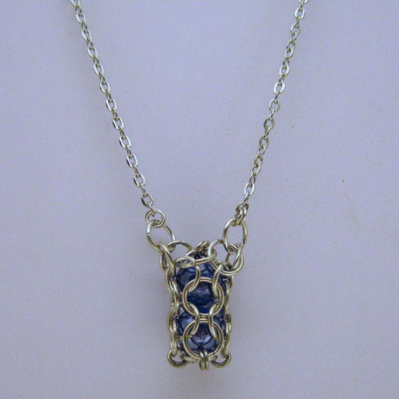Captured Necklace   Hillary's Handmade