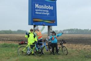 We made it to Manitoba!