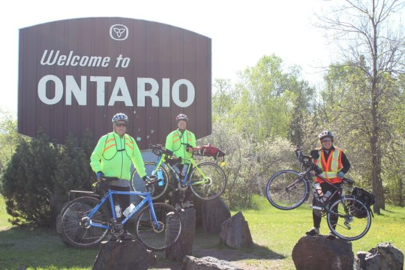 Entering Ontario Click image for more photos from day 26