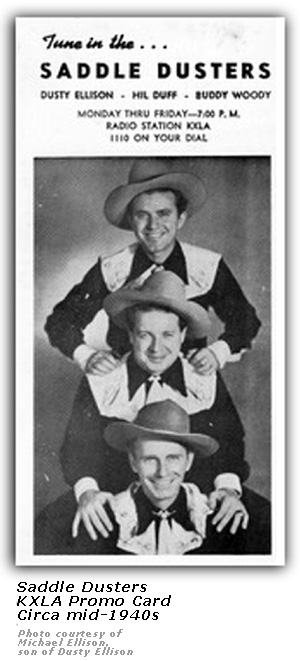 Image result for Dusty Ellison & His Saddle Dusters
