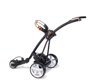 Hill Billy in black with Orange Trim and Standard lithium battery