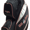 Deluxe Lite Cart Bag Black and Pink