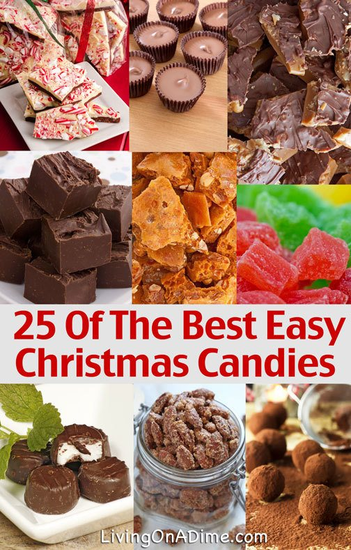 25 Easy Candy Recipes Perfect For The Holidays