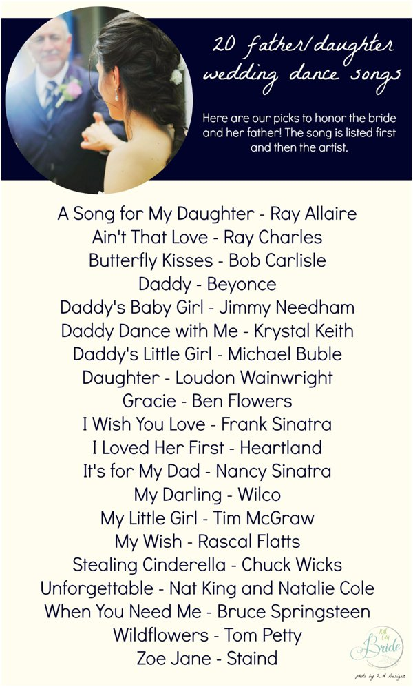 20 father daughter dance