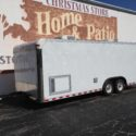 22' Pace Trailer - 2 A/C - Onan Generator - Extended Tounge