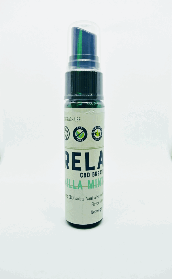 Relax Oral CBD Spray | Hill Country Pharm Haus