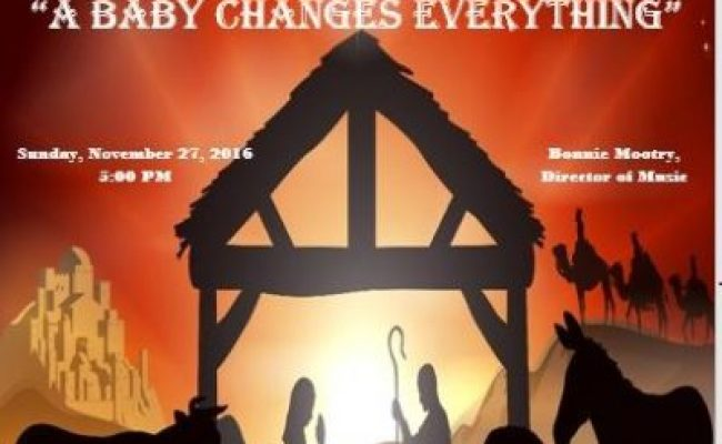 Hanging Of The Green A Baby Changes Everything Hillcrest Baptist Church