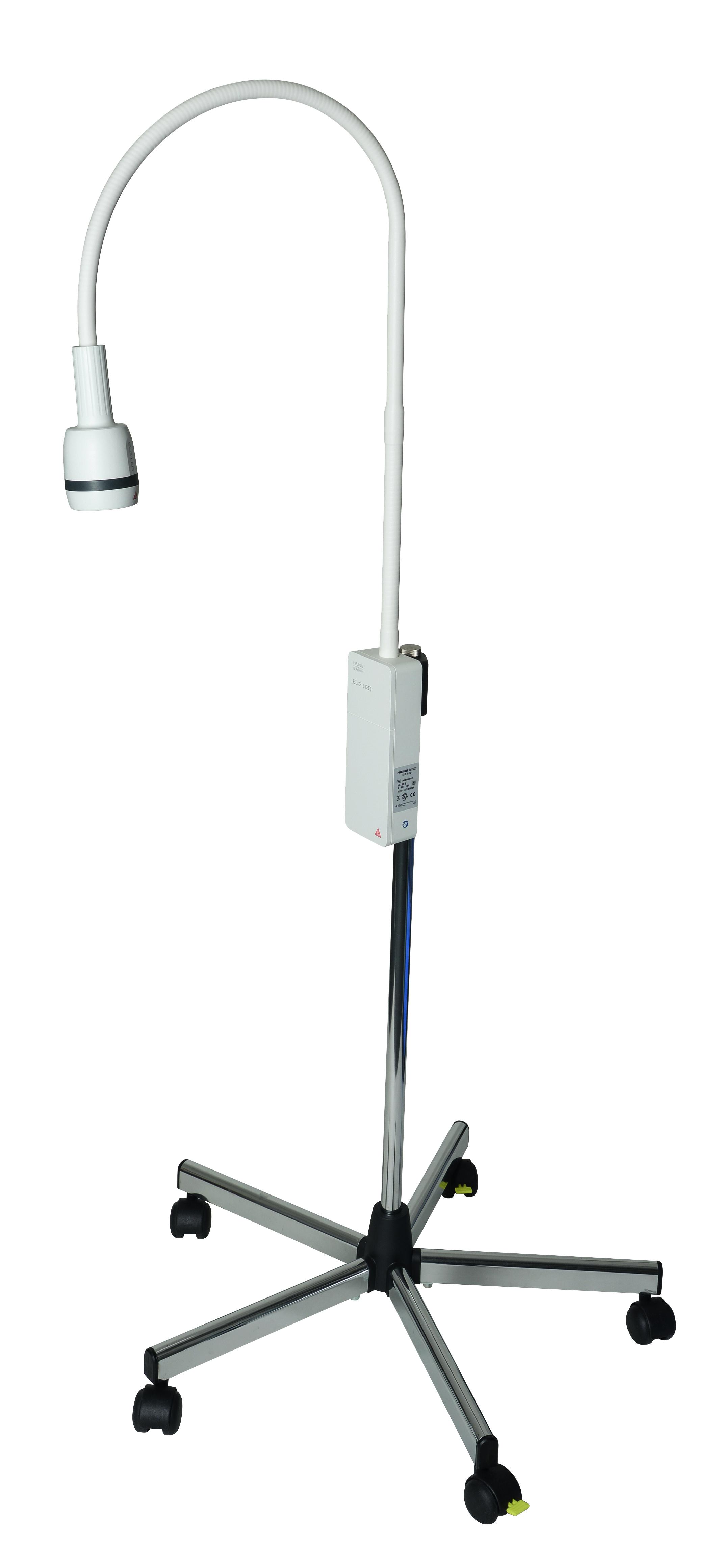 Heine El3 Led Examination Light With Mobile Wheeled Base