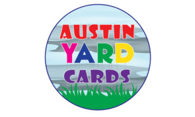 AUSTIN YARD CARD LOGOS