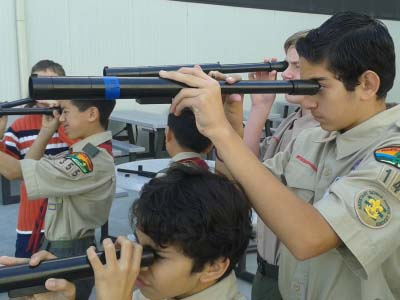 Boy Scouts - Hiller Aviation Museum