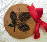 Sip & Paint ornament