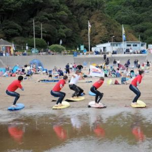 British surf school