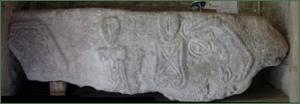 The Leper stone Llanrhidian Church