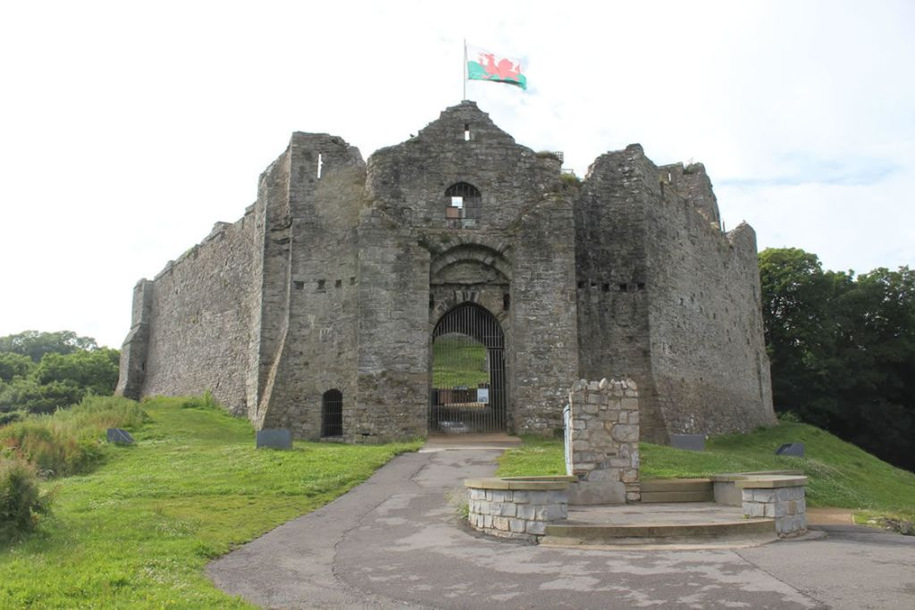 Oystermouth castle Gower