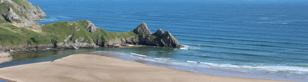 Gower cottage three cliffs bay