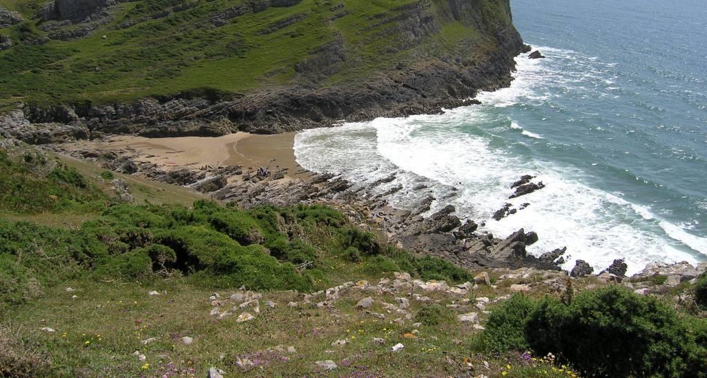 Gower Beaches - Mewslade