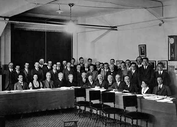 Photo Confrence Solvay 1933