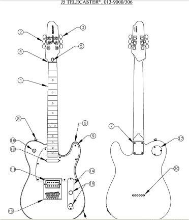 20. Fender Telecaster J-5