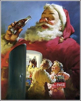 Sundblom Coke Xmas